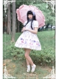 Chinese Cats' Garden Party Neverland Lolita JSK