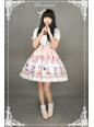 Chinese Cats Garden Party Neverland Lolita Skirt