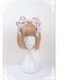 Chinese Cats Garden Party Neverland Lolita Headbow