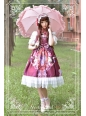 Midsummer Night High Waist Neverland Lolita Jumper Dress