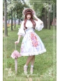 Midsummer Night High Waist Neverland Lolita Skirt