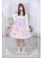 Perfume of Hydrangea Neverland Lolita High Waist Skirt