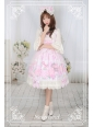 Perfume of Hydrangea Neverland Lolita JSK with Detachable Overskirt