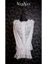 Gold Wire Rose Chandelier Gothic Lolita Blouse