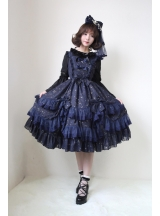 Chiffon Wish Upon A Star Gilding Lolita JSK