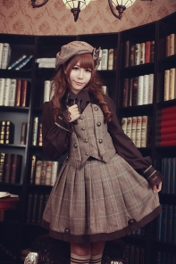 Infanta - The Fog of Baker Street- Quji Lolita Salopette