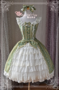 Magic Tea Party - Court Wind Open Front Design Lolita JSK Dress