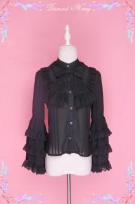 Rococo Daily Ribbon Princess Sleeve Shirt
