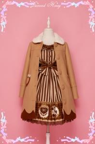 Diamond Honey -Doughnut- Sweet Dailywear Babydoll Style Coat