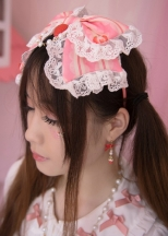 Cute lace strawberry cherry Headdresses