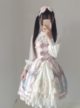 Japanese Traveller\'s Anthem Sling Dress Sweet Lolita