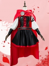 RWBY Ruby Rose Little Red Cap Cosplay Costumes