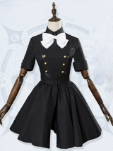 Fate/Apocrypha Astolfo Black Dress Cosplay Costumes