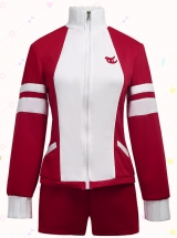 Umamusume: Pretty Derby Special Week Tresson Academy College Red Sportswear Uniform Spot Costumes
