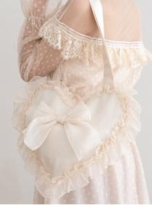 Autumn Dream Cute Ruffle Sweet Lolita Shoulder Bag