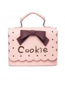 Cute Cookie Sweet Lolita Bowknot Shoulder Bag