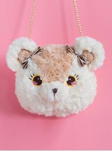 Plush Bear And Plush Bunny Sweet Lolita Shoulder Bag