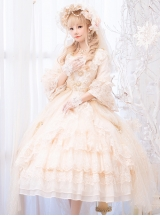 Moonlight Dance Party Series OP Palace Style Classic Lolita Gorgeous Dress