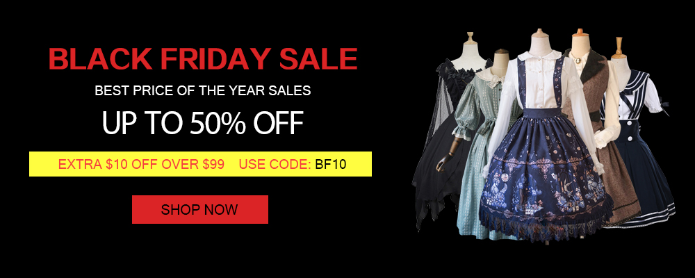 Lolita Dresses Black Friday Sale